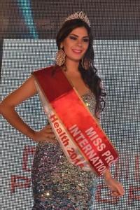 Liz Arévalos, paraguaya, Miss Progress International 2015
