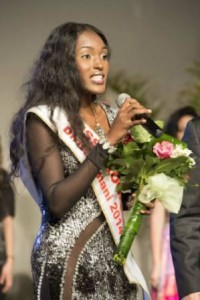 Merie Darline Exume (Haiti), Miss Progress Human Rights 2014