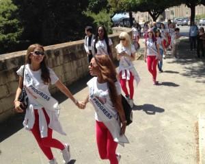Walking in Taranto