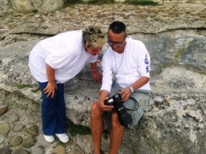 Giusy Nobile, presidentt, e Antonio Zanata, official photographer