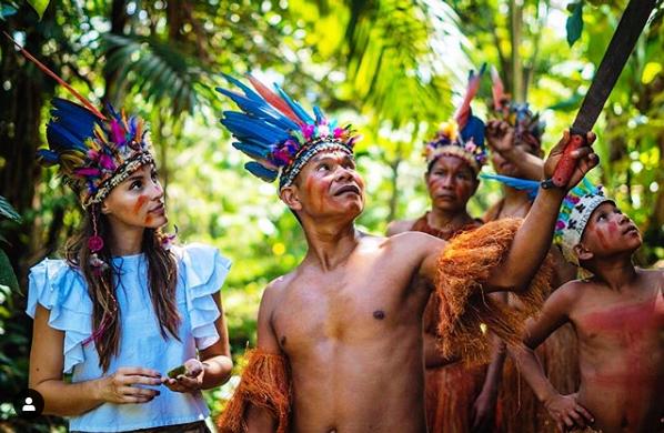 Vanesa Giraldo Lopez (Colombia) vincitrice della settima edizione di Miss Progress Interntional, realizza il suo progetto sull'Ambiente nell'Amazzonia colombiana