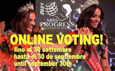 Online voting for Miss Progress Internet 2021 has started!